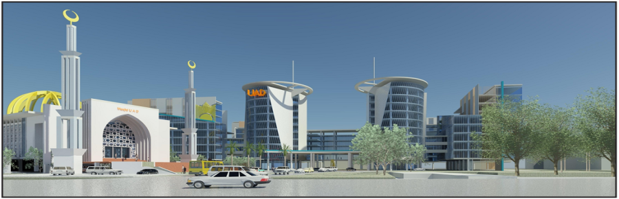 Rancangan-bangunan-kampus-4-dan-masjid-UAD